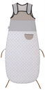 Coton Bio - Gigoteuse Réglable Matelassée 6 Mois - 3 Ans (85 - 105 cm) - Collection Little Sweet Dreams